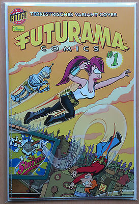 Futurama Nr. 1 Variant-Cover-Edition (Simpsons)