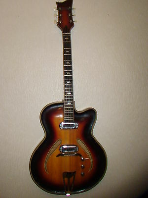 Musima Record Guitar 17 Very Vintage And Rare