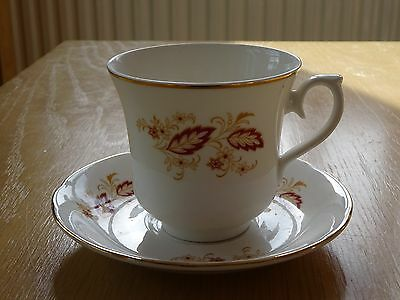 Royal Osborne Fine Bone China Cup And Saucer