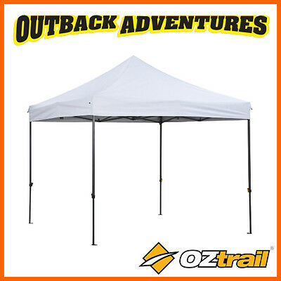 OZtrail DELUXE CORPORATE GAZEBO 3X3M CAMP FUNCTION SHELTER