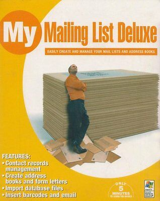 MY Mailing List Deluxe