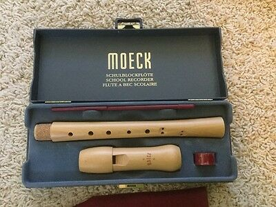 Moeck school recorder - never used, brand new in box