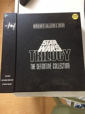 Star Wars Trilogy Laser Discs- The Definitive Collection