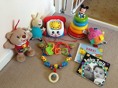 Bundle Of Baby Toys And Books