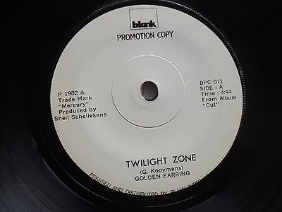 Golden Earring - THAILAND PROMO - RARE UNKNOWN / UNSEEN 45 RPM release in EX++