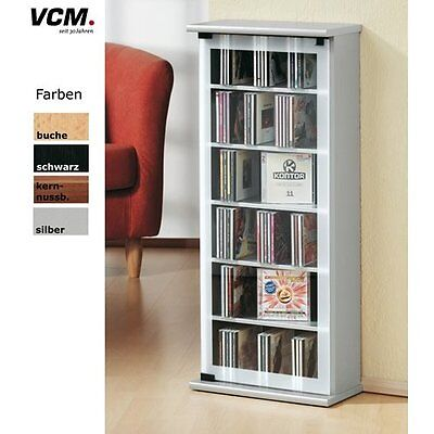 VCM 21034 Torretta CD/DVD Classic per 150 CD, Anima in Noce