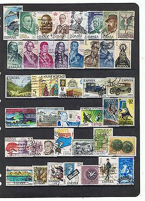 España Spain  Mundiales World Stamps Sellos Used  Lot Sts8Tm