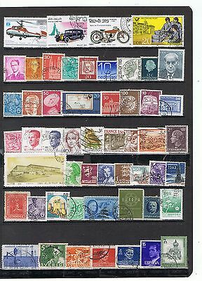 Mundiales Usados Worldwide Stamps Used  Lot Mtops