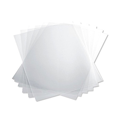 PVC Binding Covers Clear 10 Mil 8 1/2 x 11 Inches Pack of 100 Office Supplies