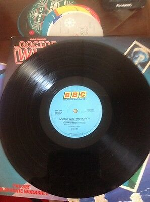 Doctor Who: The Music II BBC Records Radiophonic Workshop LP Five Doctors