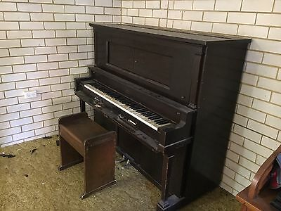 George Steck Pianola Player Piano With Aeolian Action