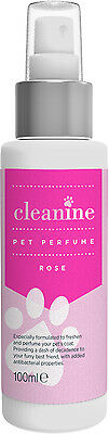 Rose Pet Perfumes Professional Dog Cologne Deodrant Grooming Designer Spray
