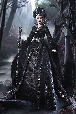 Barbie Collector Gold Label ~ Queen of the Dark Forest ~ Doll ~ NRFB   2015