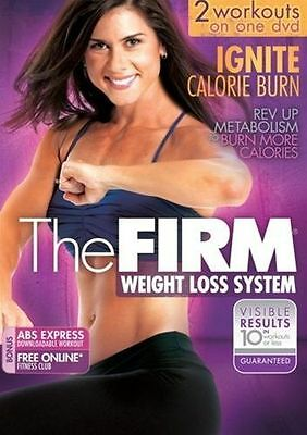 The Firm: Weight Loss System (DVD) Ignite Calorie Burn -2 Workouts -Region 4 VGC