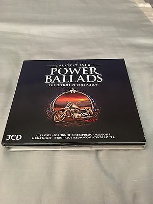 Greatest Ever! Power Ballads : The Definitive Collection - 3 CD's