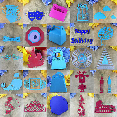 25 Kinds Metal Cutting Dies Stencil Scrapbooking Album Paper Card Embossing DIY