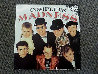 "Complete Madness - 12"" vinyl record gatefold LP album Ska- FREE POST"