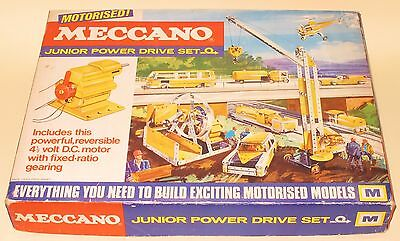 Meccano Junior Power Drive Set M Great Condition Factory Sealed MINT Boxed