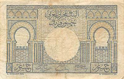 Morocco  50  Francs  2.12.1949  Series L Circulated Banknote LB0617j