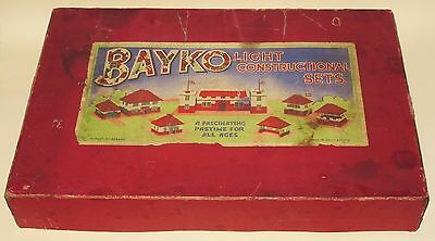 Bayko Outfit No.3 Pre War 1930's Light Constructional Set RARE MINT BOXED