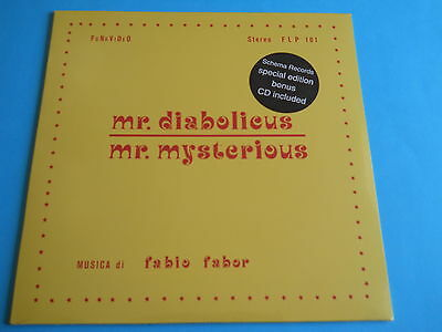 Fabio Fabor - Mr Diabolicus Mr Mysterious - Sealed + Cd