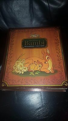 Disney's BAMBI Blu-ray +DVD 2-Disc Set Special Limited Edition New w Certificate