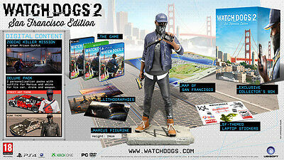 Watch Dogs 2 San Francisco Collector Edition PC DVD-Rom Game New&Boxed - IN HAND
