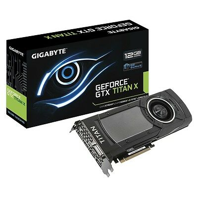 Gigabyte GeForce GTX Titan X 12 GB Maxwell graphics card