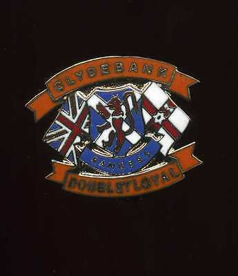 Glasgow Rangers Gers Clydebank  Supporters Club Pin Badge lot4
