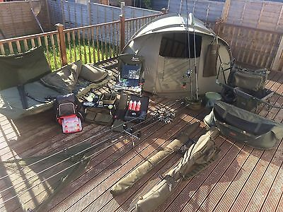 Full Carp Fishing Set Up