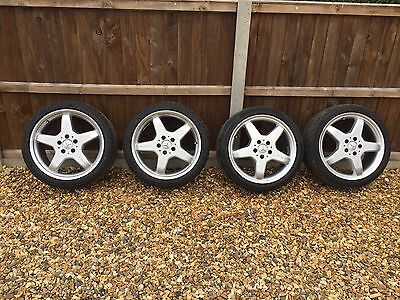 Mercedes AMG 18 Alloy Wheels Genuine Staggered 5x112 Used Alloys