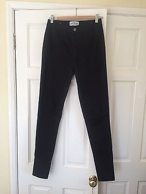 New Look Black High Waist Super Skinny Jeans Size 10