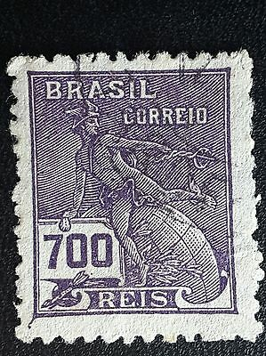 Brasil Brazil postage stamp. 1928 industry and culture