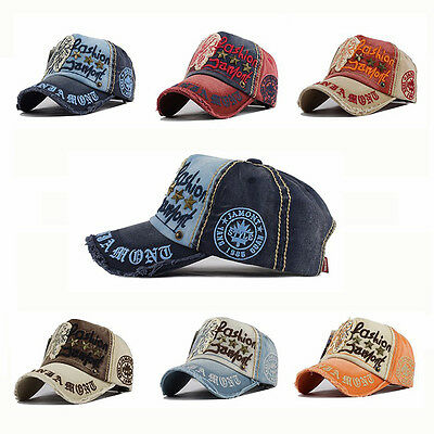 Fashion Basecap Coole Mütze Unisex Must-Have Vintage Baseball Motocross VIP