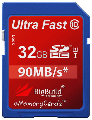 32GB Memory card for Bell & Howell Take1 HD Camera | Class 10 90MB/s SD SDHC New