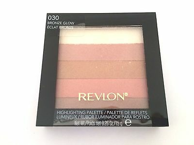 REVLON Highlighting Palette - 030 Bronze Glow - Sealed - 7.5g
