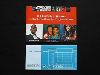 The Broadway Theatre, Peterborough Programme 2007