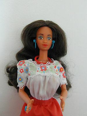 Mexican Barbie Dolls of the World Collection 1988