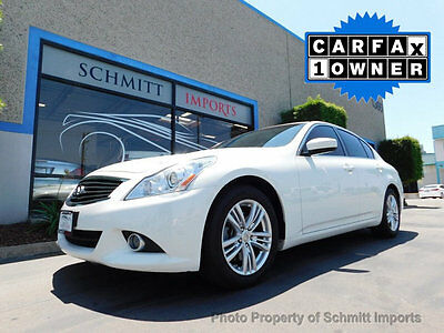 2013 Infiniti G37 4dr Journey RWD 2013 Infiniti G37 Journey, 1-Owner, Only 58k Miles, Super Clean Car!
