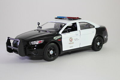 1:24 scale LAPD 2013 Ford Police Interceptor. (Decaled only)