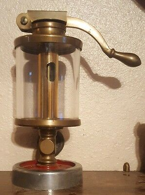Vintage D.T. Williams Valve Brass hit & miss engine oiler,Large No.6