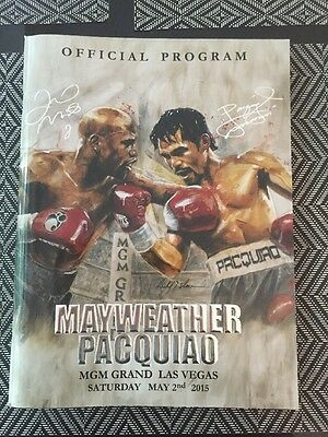 Mayweather v Pacquiao Official Fight Program