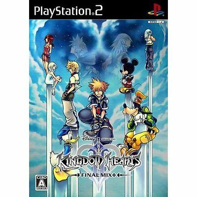 Kingdom Hearts II Final Mix + special limited edition package PlayStation2 NEW