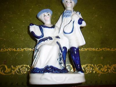 Blue and White China Ornament