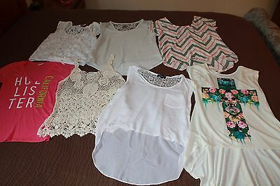 junior girls tops lot of 7, Size SMALL