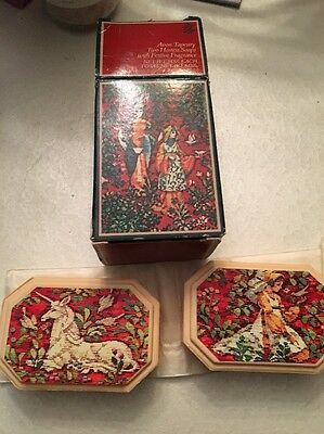 Avon Tapestry 2 Hostess Soaps With Festive Fragrance