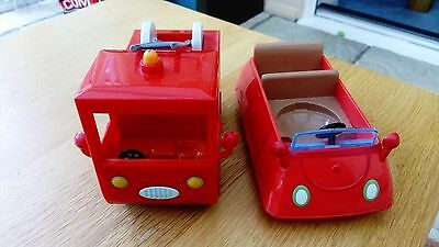 Peppa Pig Car and Fire Engine toy bundle