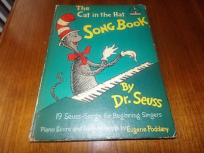 The Cat in the Hat Songbook by Dr. Seuss 1967 First Edition