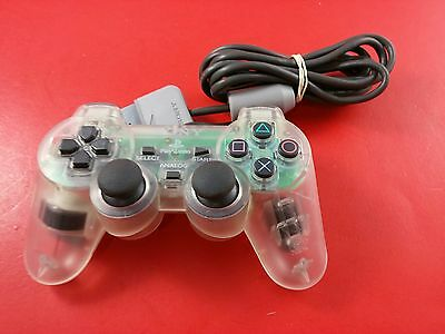 Sony Playstation 1 PS1 Dual Shock 2 Clear Controller [Official Original OEM]