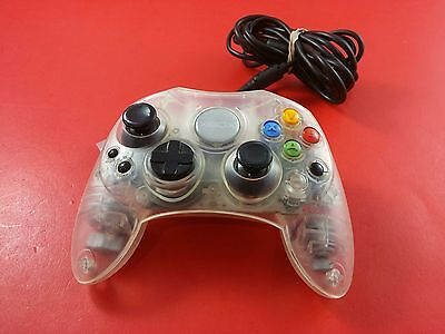 Microsoft Xbox Original Crystal Clear Controller [Official Original OEM] Working